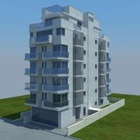 buildings 9 3d model