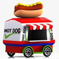 3ds max hot dog t