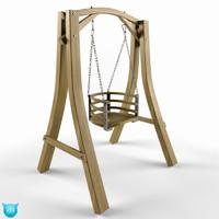 maya swing wood