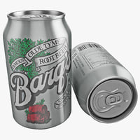 Barqs Root Beer Can