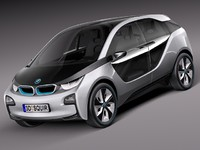 2011 bmw concept scifi 3d 3ds