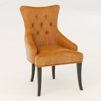 3d baxton studio chair