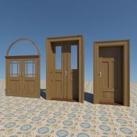 3d model interior doors