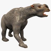 3ds max diprotodon pose 2