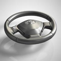 3dsmax steering wheel