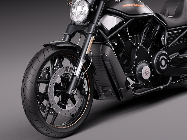 3d model 2013 harley davidson - Harley-Davidson V-rod Night Rod Special 2013... by squir
