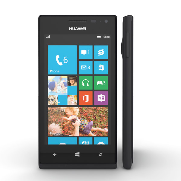 huawei ascend w1 3d max - Huawei Ascend W1 Windows Phone Smartphone... by Leeift