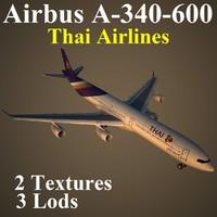 airbus tha 3d model