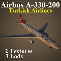 3d model of airbus thy