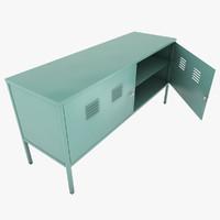 metal cabinet c4d
