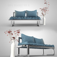 3ds sofa set