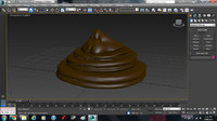 3D cartoon Poop Model