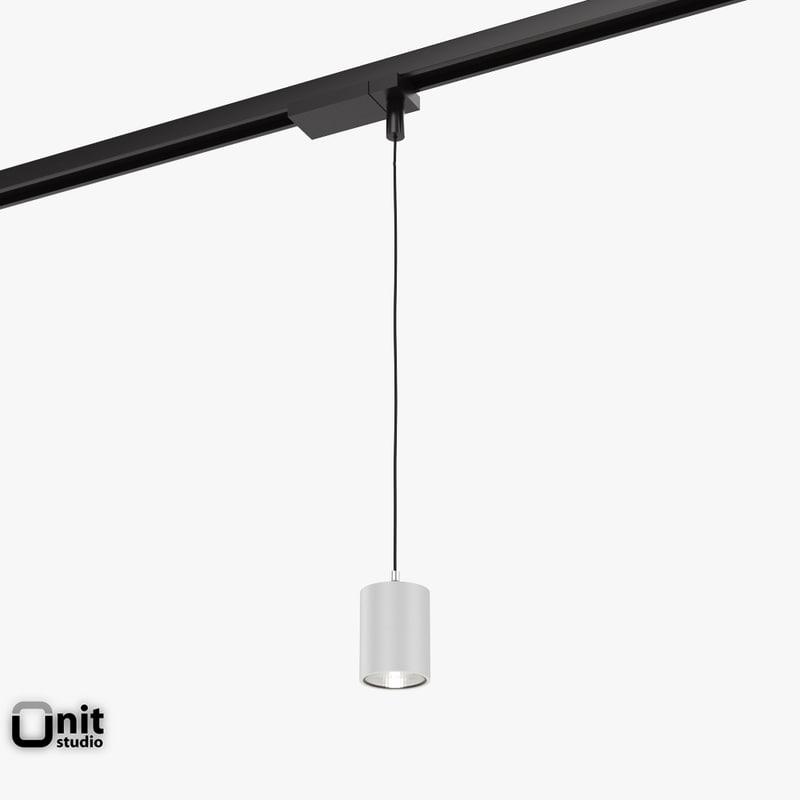 3d Zumtobel Vivo P L Pendant Model