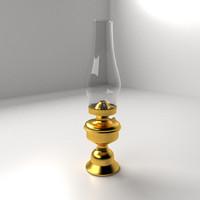 3dsmax oil lamp