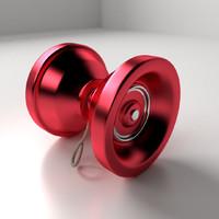 yo-yo toys 3d model