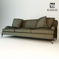 plaid sofa ralph obj