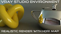 Vray Render Studio Scene