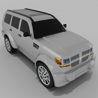dodge nitro 4x4 suv 3d model