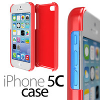 3d iphone 5c protective case model