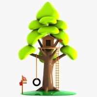 cartoon tree house 3ds