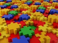 3d model tile color puzzle