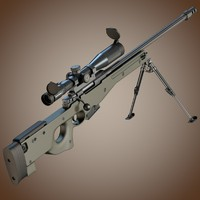 Accuracy International L96A1 sniper rifle