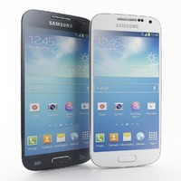 Samsung I9190 Galaxy S4 Mini Black  And White