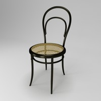 3d model chair thonet 14