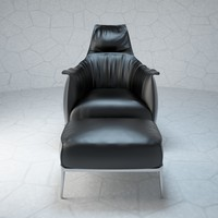 3d model archibald armchair