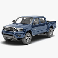 toyota tacoma 2012 truck c4d