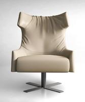 busnelli armchair swivel 3d max