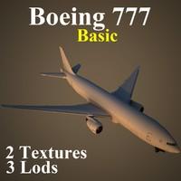 maya boeing 777 basic