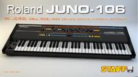 3d model roland juno-