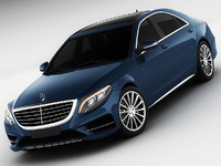 Mercedes S-class 2014 AMG line