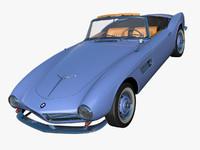 3dsmax bmw 507 roadster