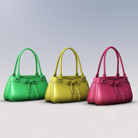 3ds max ladies hand bag
