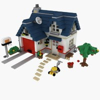 House Lego Set 5891