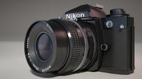 3d model of nikon fe