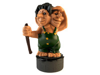 max ceramic troll toy
