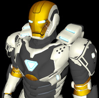Iron Man Mark 39 Gemini Space Suit