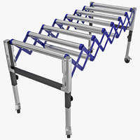 3d expandable conveyor model