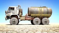 OLD Kamaz Tanker