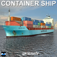arun container ship 3ds