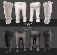 AngelRED Couture - Baggy Capri Pants