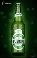 3d max tuborg beer