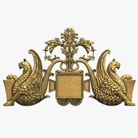 3ds max coat arms 3