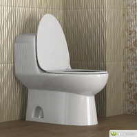 3ds max toilet architec
