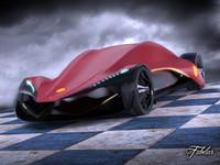 maya ferrari ineo concept car