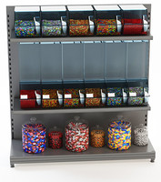 candy display retail store obj
