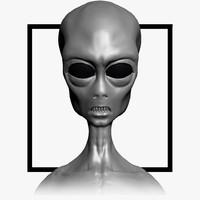 grey alien max